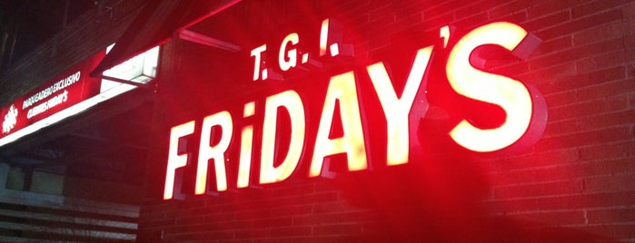 T.G.I Friday's is one of Restaurantes visitados.