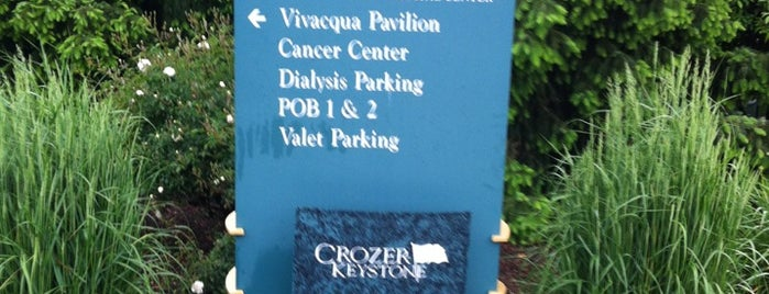 Crozer-Chester Medical Center is one of hospitals.