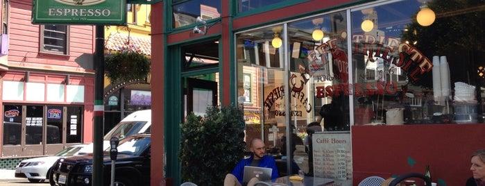 Caffe Trieste is one of San Francisco Caffeine Crawl.