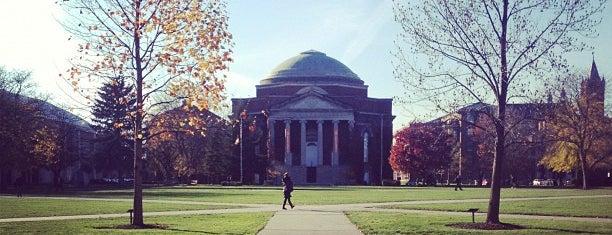 Syracuse University Quad is one of NYC Syracuse UNI.