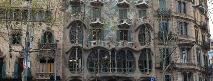 Gaudi Plein is one of Barcelona.