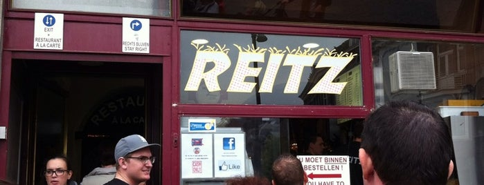 Friture Reitz is one of Maastricht Favorites.
