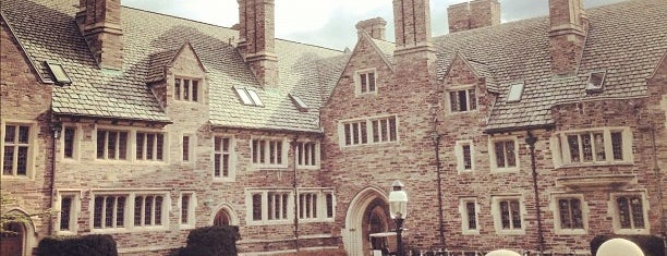 Princeton University is one of Inspired locations of learning.