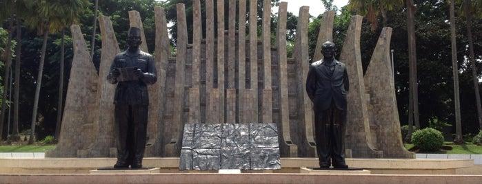 Tugu Proklamasi (Proclamation Monument) is one of Jakarta. Indonesia.