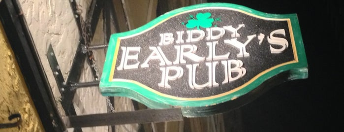 Biddy Early's is one of Bars and Restaurants in Boston.