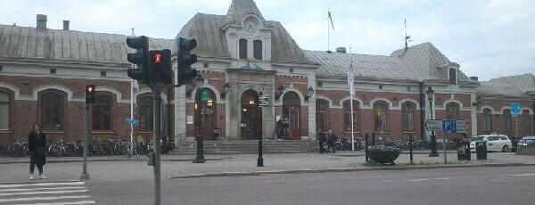 Karlstad Centralstation is one of Tågstationer - Sverige.