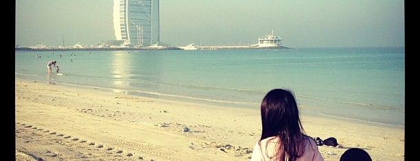 Umm Suqeim Open Beach is one of 36 hours in...Dubai.