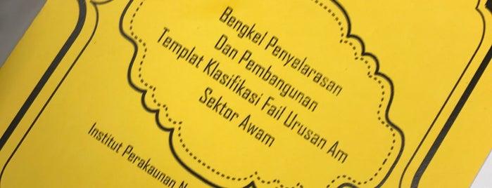 Institut Perakaunan Negara is one of Learning Centers,MY #5.