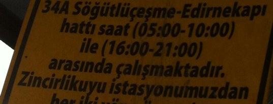 Edirnekapı Metrobüs Durağı is one of Metrobüs Durakları.