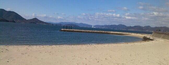 瀬戸田サンセットビーチ is one of 景色◎.