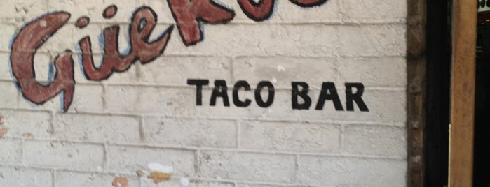 Guero's Taco Bar is one of SXSW: The Travellers' Guide.
