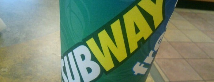SUBWAY is one of 20 favorite restaurants.