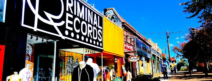Criminal Records is one of Top picks for Record Shops.