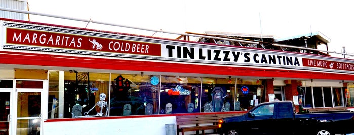Tin Lizzy's Cantina is one of Eat/Drink Local.