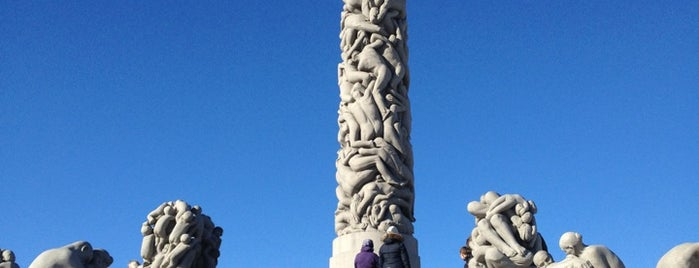Vigeland Sculpture Park is one of Oslo.