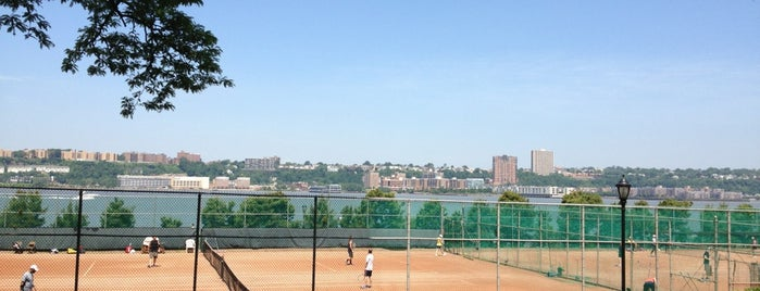 Clay Tennis Courts is one of Public Tennis Courts in NYC Parks.