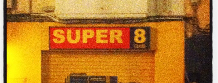 Super 8 Club is one of Bars I've been to.