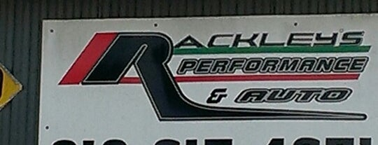 Rackley's Performance & Auto is one of Gary's List.