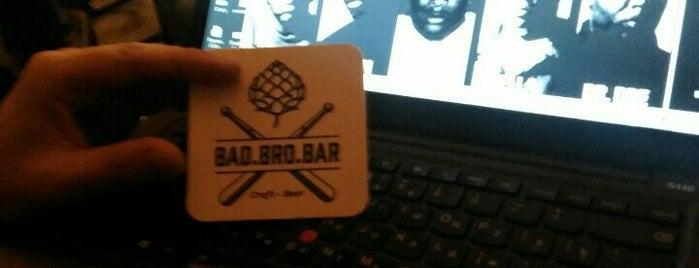 Bad.Bro.Bar is one of Крафтовое пиво в Москве.