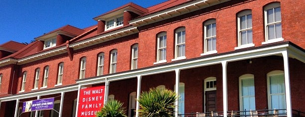 The Walt Disney Family Museum is one of San Francisco To Do List.