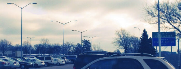 Dutch Mill Park & Ride is one of My Faves.