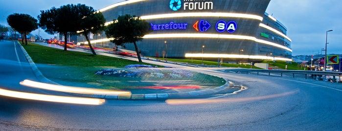 Marmara Forum is one of İstanbul'da En Çok Check-in Yapılan Mekanlar.