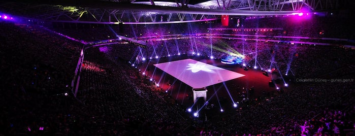 Türk Telekom Stadyumu is one of İstanbul'da En Çok Check-in Yapılan Mekanlar.