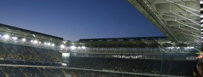 Ülker Stadyumu Fenerbahçe Şükrü Saracoğlu Spor Kompleksi is one of İstanbul'da En Çok Check-in Yapılan Mekanlar.