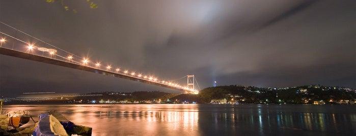 Fatih Sultan Mehmet Bridge is one of İstanbul'da En Çok Check-in Yapılan Mekanlar.
