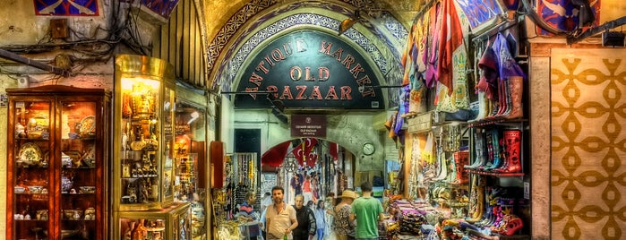 Grand Bazaar is one of İstanbul'da En Çok Check-in Yapılan Mekanlar.