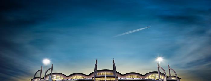 İstanbul Sabiha Gökçen Uluslararası Havalimanı (SAW) is one of İstanbul'da En Çok Check-in Yapılan Mekanlar.