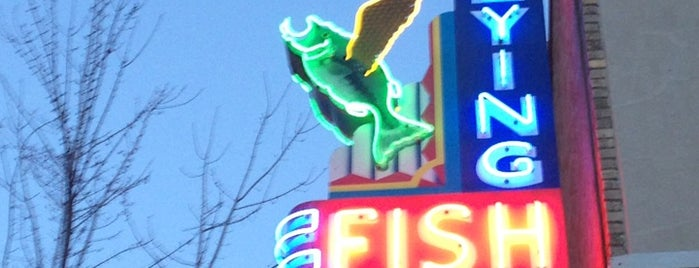 Flying Fish is one of Favorite Food.