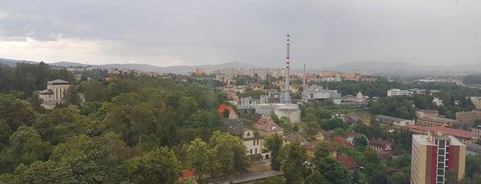 Krajský úřad Libereckého kraje is one of Páternostery.