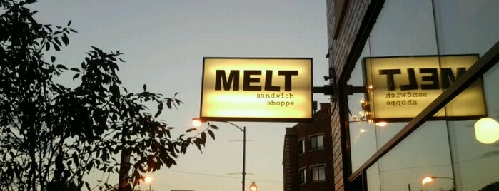 Melt Sandwich Shoppe is one of Chicago's Top 50 Sandwiches.