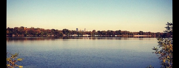 Lake Nokomis is one of City Pages Best of Twin Cities: 2014.