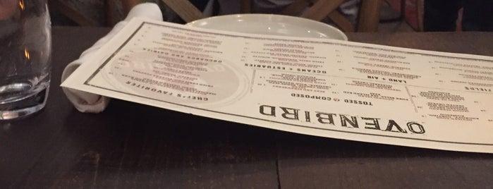 OvenBird Restaurant is one of Birmingham.