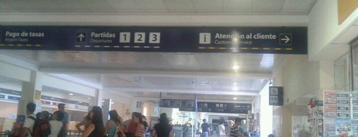 Aeropuerto Internacional de Bariloche - Teniente Luis Candelaria (BRC) is one of Patagonia (AR).