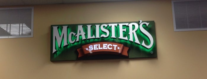 McAlister's Deli is one of UofL.