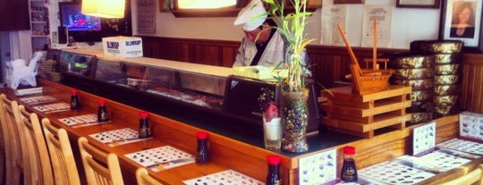 Hanabi Sushi Bar is one of Favorite spots.