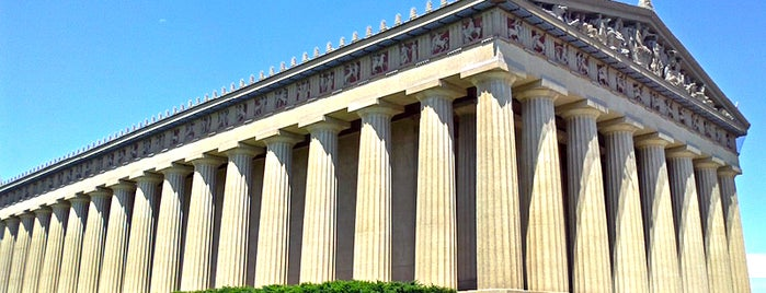 The Parthenon is one of Things to See.