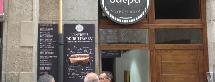 Butipà is one of Cheap Eats Barcelona 5-10€.