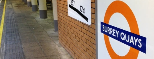 Surrey Quays London Overground Station is one of Rail stations.