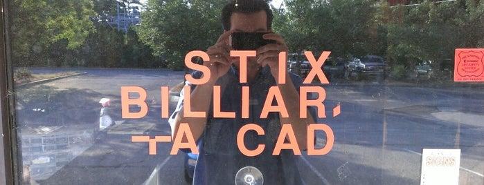 STIX Billiards is one of Arcades.
