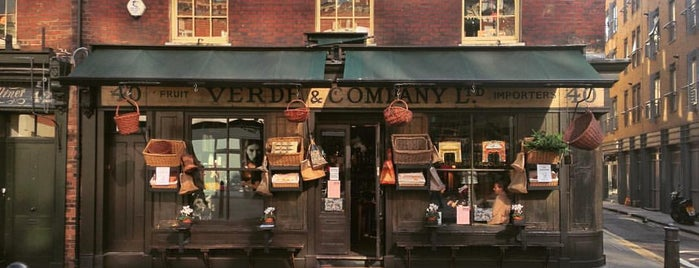 Verde & Company is one of London.
