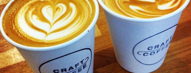 Craft Coffee is one of 100+ Independent London Coffee Shops.
