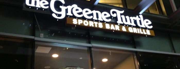 The Greene Turtle is one of places to dine.