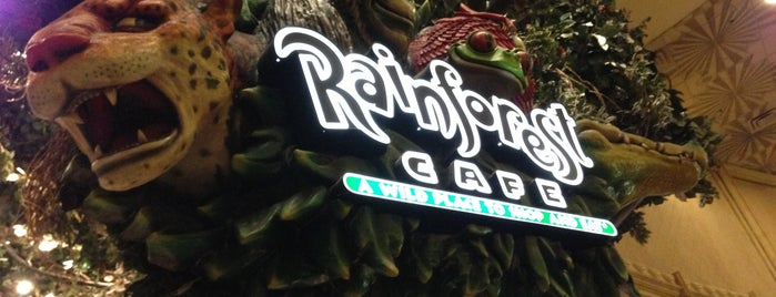 Rainforest Cafe is one of Las Vegas extended.