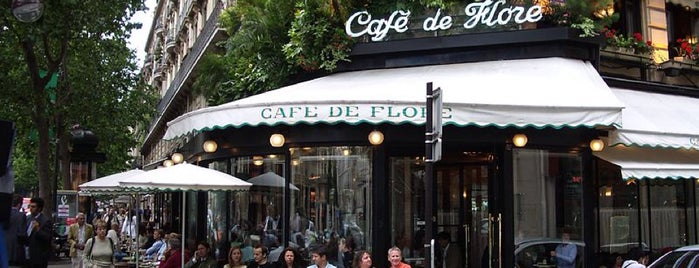 Café de Flore is one of Paris - best spots! - Peter's Fav's.
