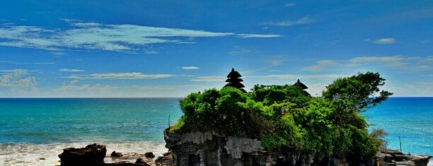 Tanah Lot Temple is one of Bali.
