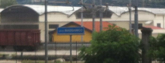 Stazione Maggianico is one of Linee S e Passante Ferroviario di Milano.